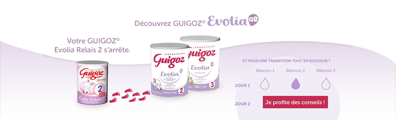 EVOLIA a2 - GUIGOZ TRANSITION NOUVELLE FORMULE