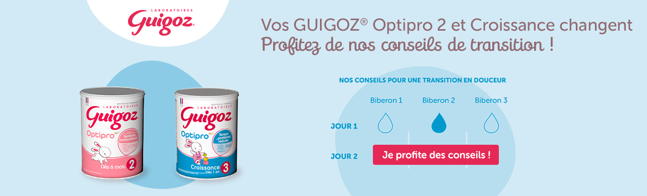 Guigoz Transition Nouvelle Formule