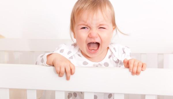larmes d'un enfant en colère